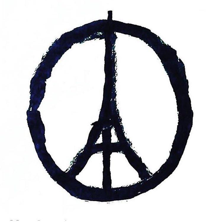 Sending love to our friends in Paris tonight. #dontgiveintofear #prayforparis