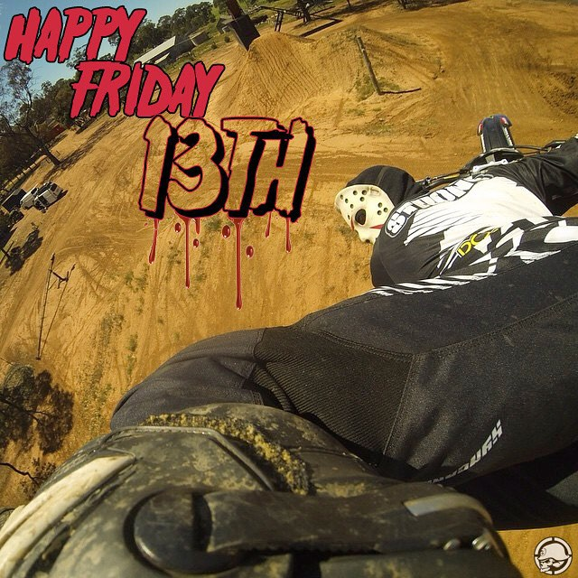 #HappyFridayThe13th ☠ • @JackOStrong | #MetalMulisha #13th #WorldDomination