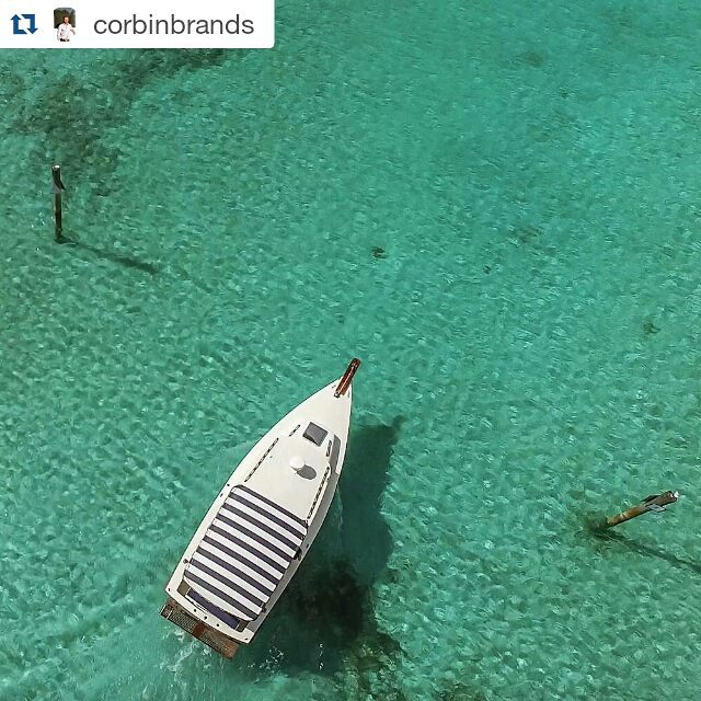 Crystal clear weekends begin like this.  Repost: @corbinbrands  #bahamas #IamDJI #DJI