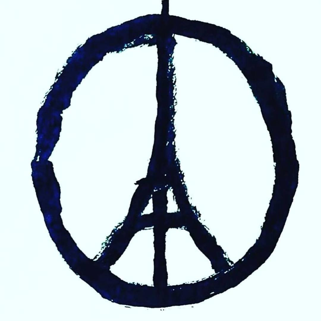 Our thoughts and prayers are with our families and friends in #France right now as we #PrayForParis. Send your good vibes to the people there going through this incredible tragedy.