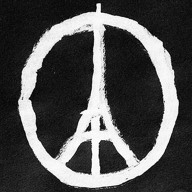 Our hearts go out to all involved in this horrible tragedy. #bestrongparis #prayforparis