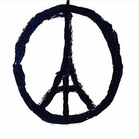 Our hearts go out to our coworkers, friends, and all of France tonight. #prayforparis