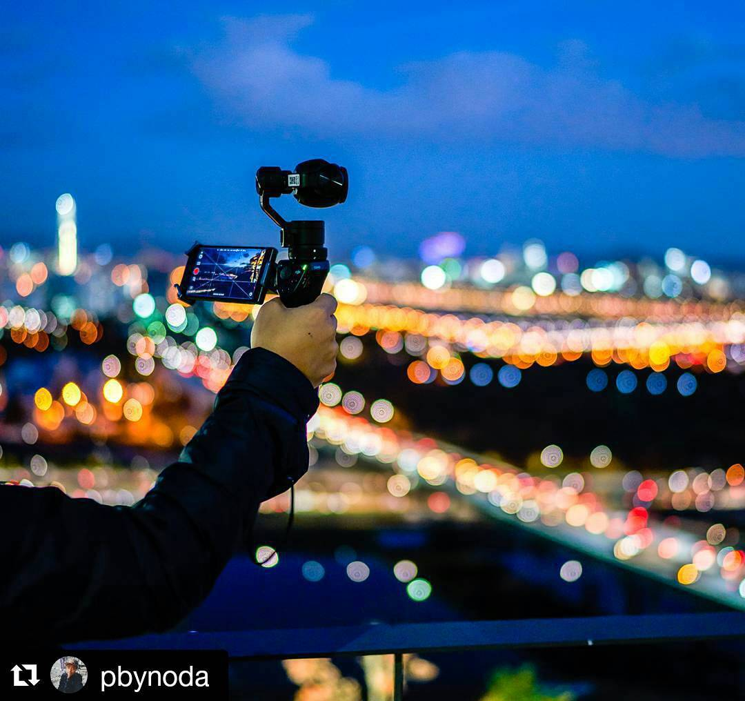 Here's to a stabilised weekend with the #DJI #OSMO  Credit: Sejong Kim (@Pbynoda)  #UGCweekends #IamDJI