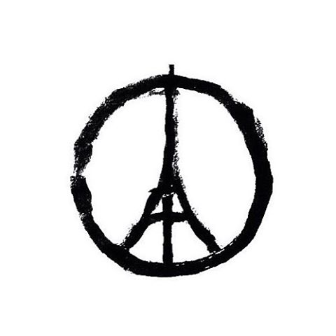 Positive thoughts and healing prayers for France and all of humanity... #Paz #Peace #Paix