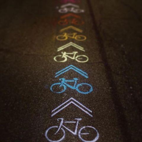 Follow the #rainbow