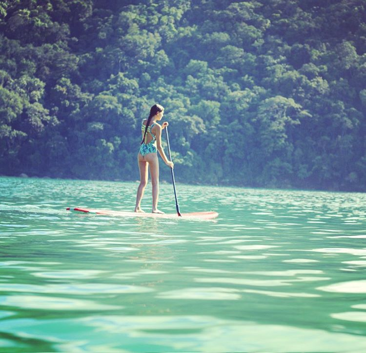 Enjoy the day! Aloha! #katwai #swimwear #SUP #paddleout #summertime