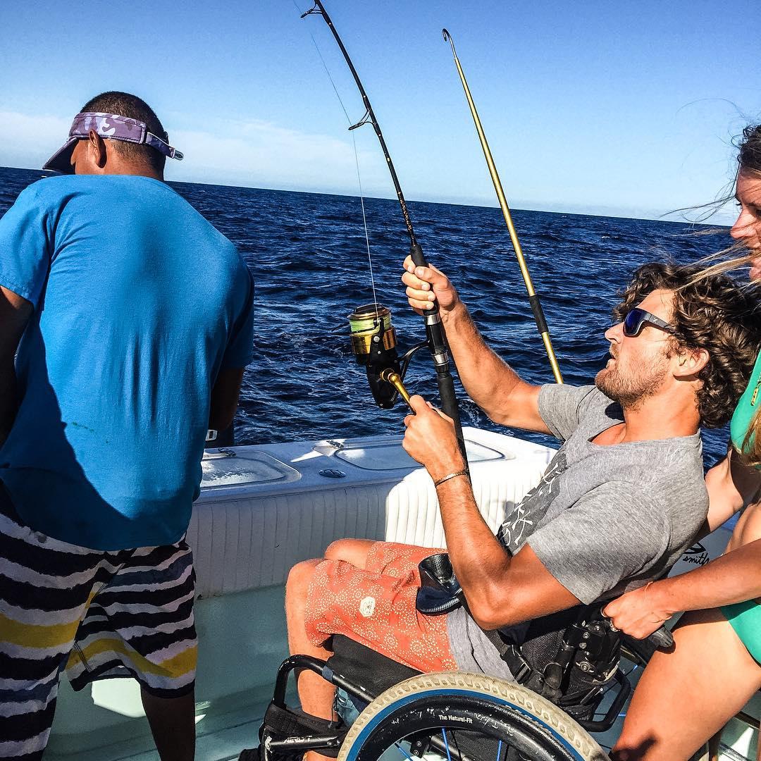 @bruce_boyle8 and @genoquigz looks like we got a master of the rod in @bondakai #fishON