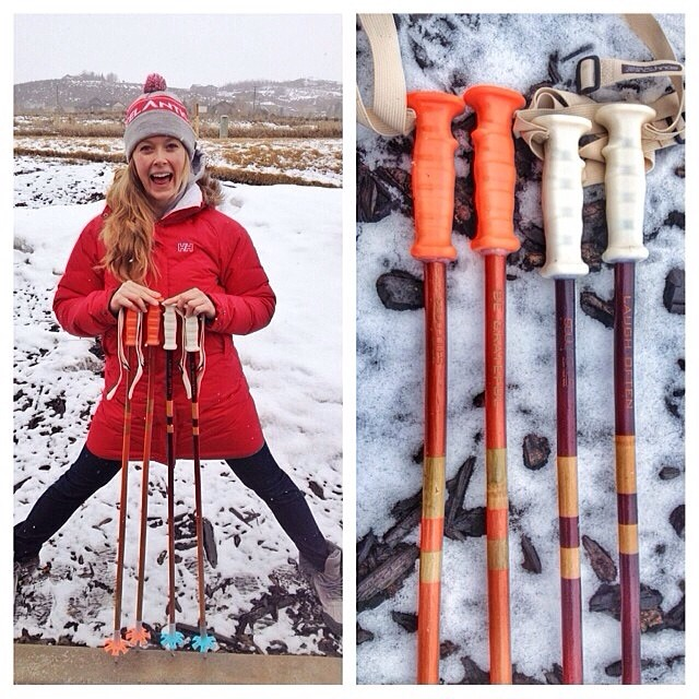 We are so excited to send @kaylinrichardson out on yet another @warrenmillerent filming trip to #Norway with some fresh cane and good mantras to ski by. On her own accord she chose to engrave #PlantYourSoul #SpreadSoul #LaughOften and #BeGrateful on...