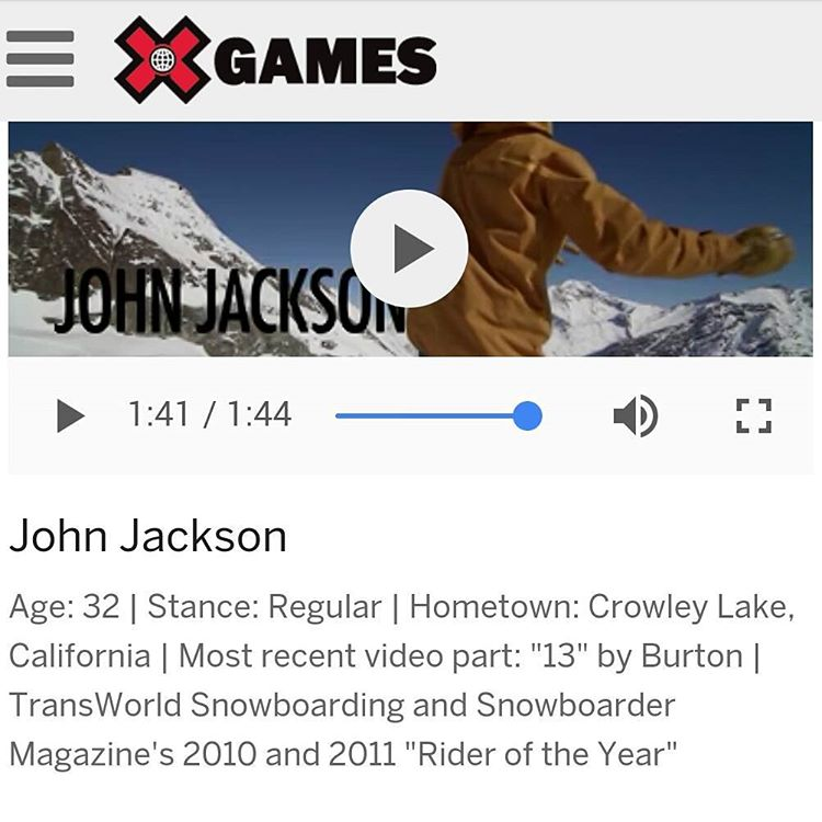 Click the link in our profile and vote each day for John Jackson (@johnjamun) in the XGames Real Snow Backcountry! #xgamesrealbackcountry #snowboarding #fluxbindings #johnjackson