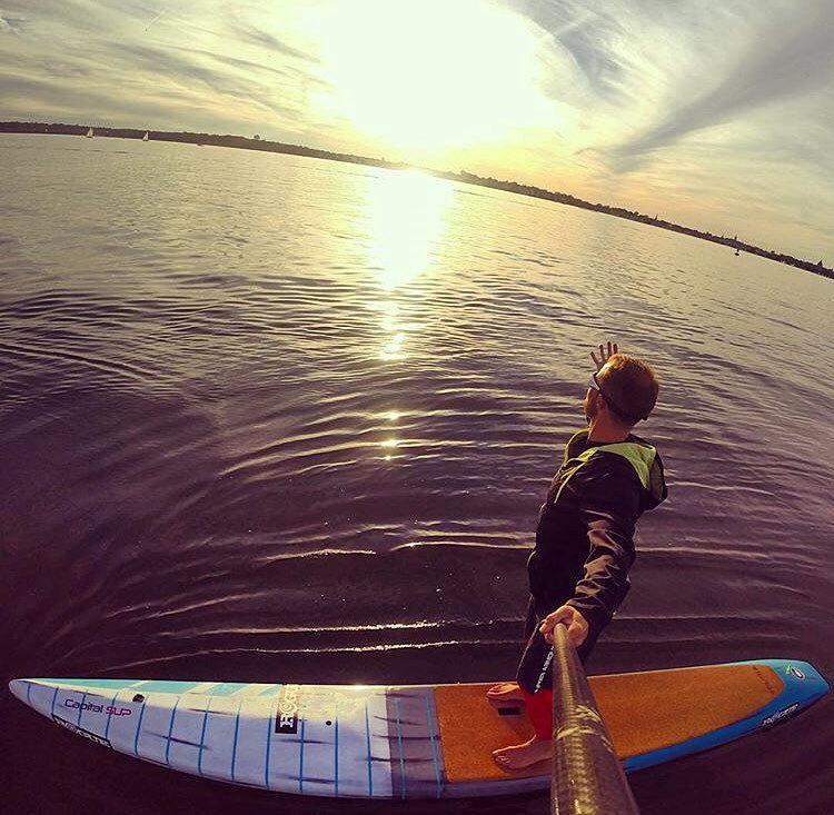Weekend vibes. #roguesup #sup #paddleboarding