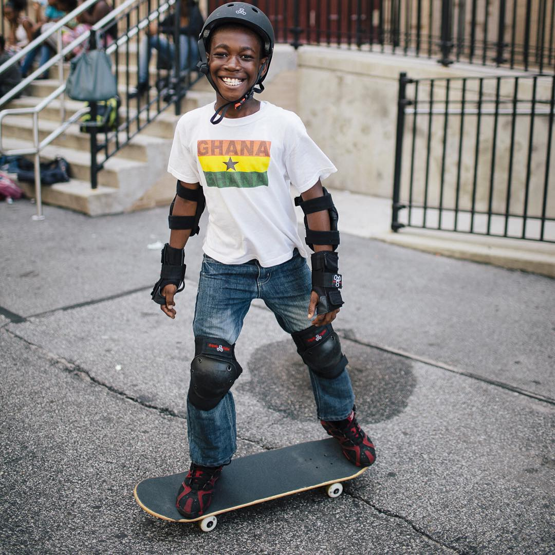 Check out that confident smile! Skating teaches our kids to always believe in themselves.