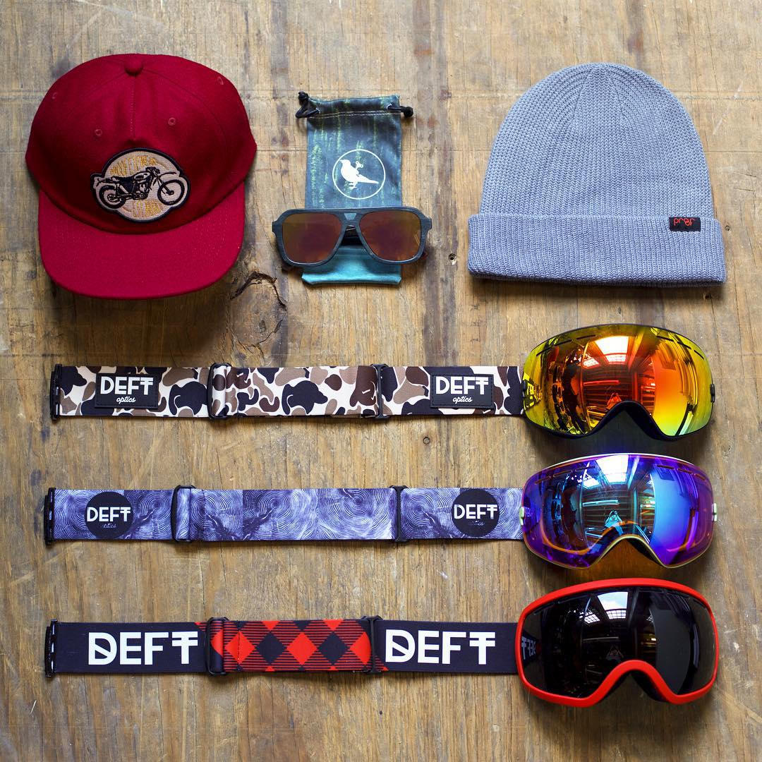 It's that time of year again ❄️ We're partnering with @deftoptics for the #NatureOfProof Giveaway  Winner will receive:  2 sets of Customized Deft Optics Goggles ($160 value), Donner Skate Fire Lens ($115 value), Proof Beanie ($14 value), Enduro...