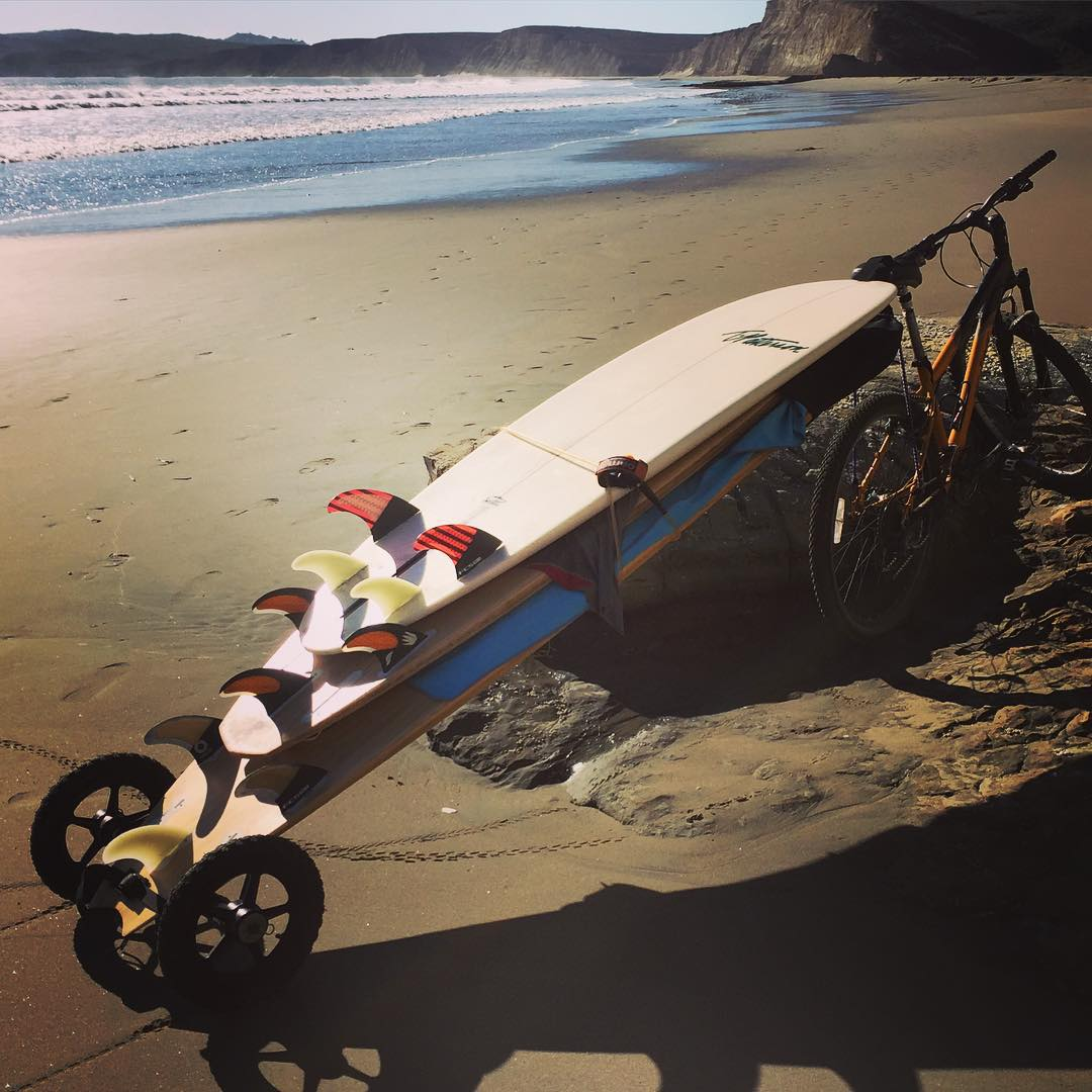 They say good things come in sets of 3... especially if you take your #BiketoSurf