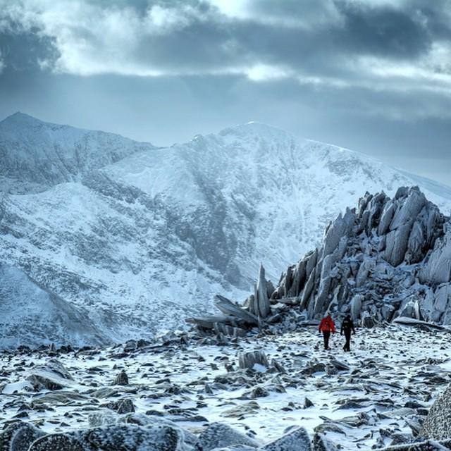 3rd finalist - John Henderson - A Glyders Winter @kendalmountainfestival photo comp #Kendal15