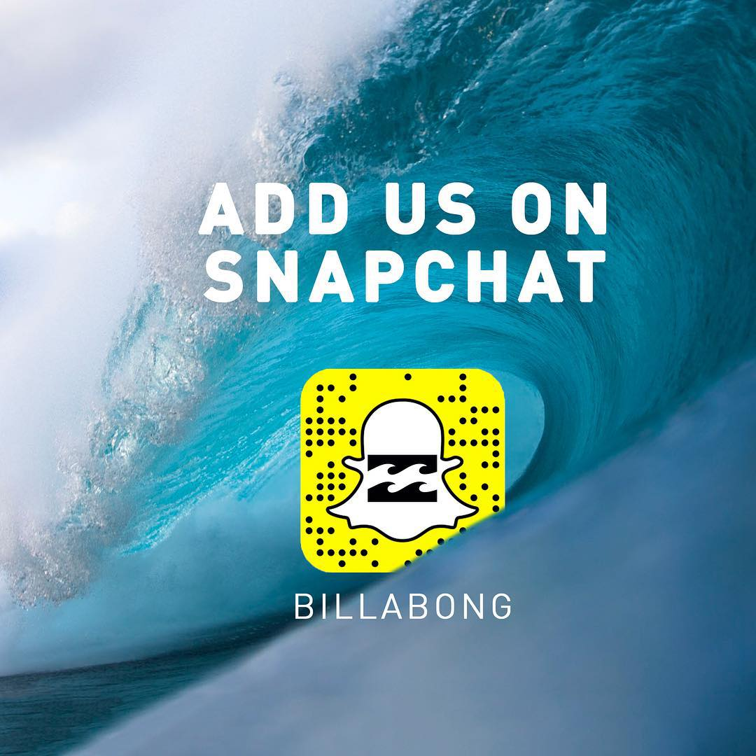 Add us- Billabong- and have an inside view of all of the action this season on the North Shore and during the #BillabongPipeMasters.