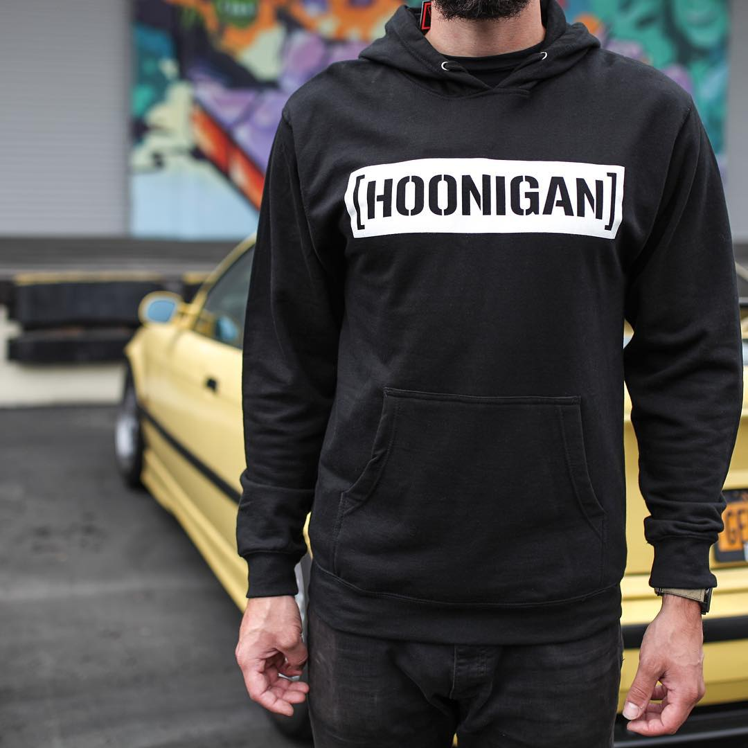 Pull over hooded fleece C-bar, available on #hooniganDOTcom