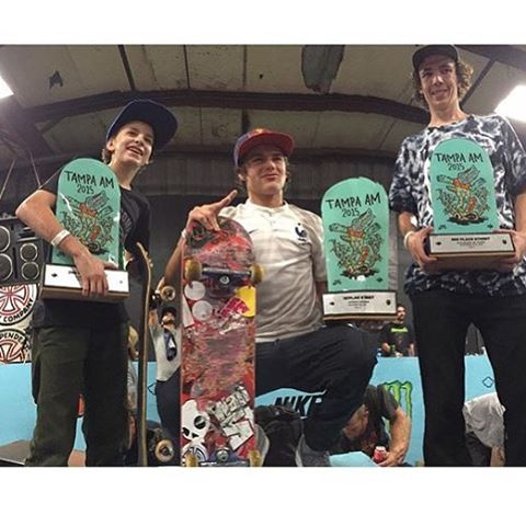 Congrats to @jaggereaton for killing it all weekend and getting 2nd in #TampaAm! Yeah, Jagger!! #JaggerEaton #DCShoes