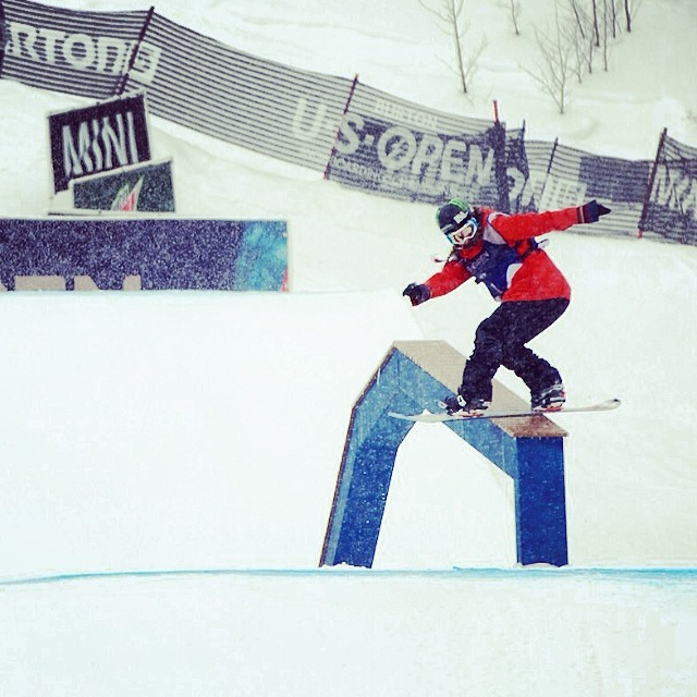 #xgames silver, #Olympic champ and now the top spot at the #burtonusopen - hello @jamieandersonsnow