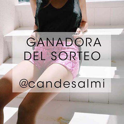 Felicitaciones @candesalmi