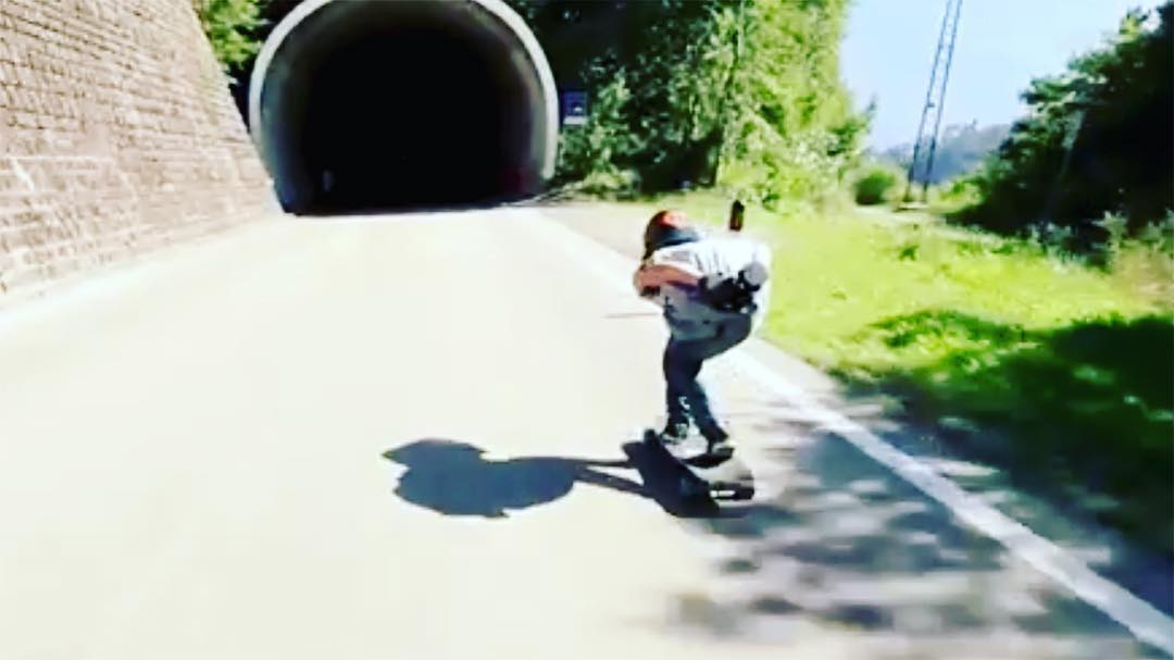 Brand new edit featuring Italian shredder and team rider Patrick Lomboardi (@patrick_lombardi) captured by David Lomboardi of DL Aerolid Designs. Follow the link in our bio to watch it! #dblongboards #dbkeystone #longboard #skateeverydamnday
