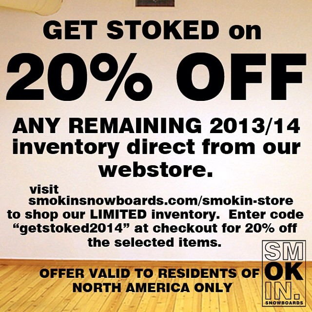 We are having a sale of remaining inventory for a limited time, go to www.smokinsnowboards.com to get on a new deck for a great deal! #handmadelaketahoe #forridersbyriders #smOKin