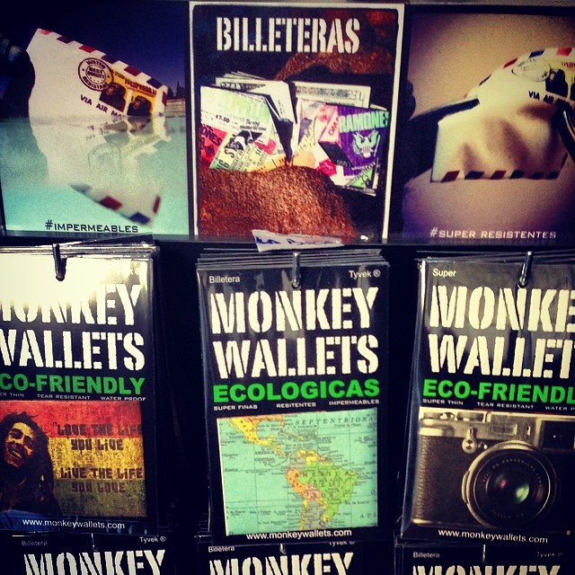 #monkeywallets #2014 #tyvek #water #wallet @monkeywallets #argentina