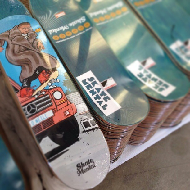 llego #skatemental exclusivo #ShineSkateshop @skatemental