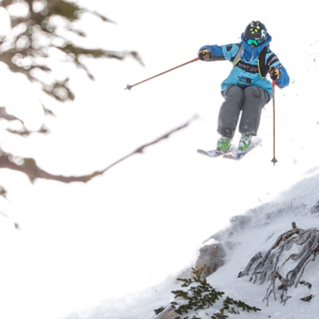 Skier: Drew Tabke Photo: Jay Dash Location: Snowbird #FWT14 Tribe: Panda Level: Full Turbo #TRIBEUP!  @drewtabke @freerideworldtour @jaydashphotography @snowbird  #magicskiwands #pandatribe