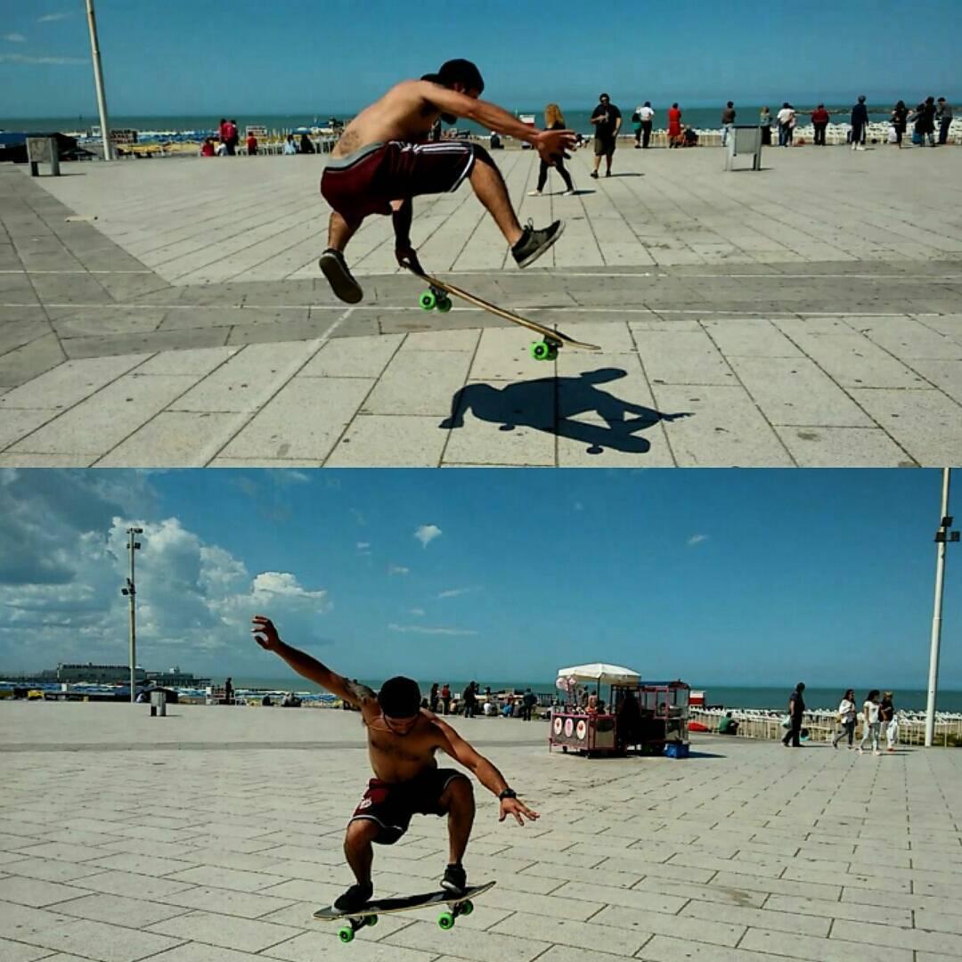 @braiantuner de #skatetrip en #mardelplata sin filtros. En su #slyZERO #dominalascalles. Vamos que volvió el calor #skate #street #sumertime