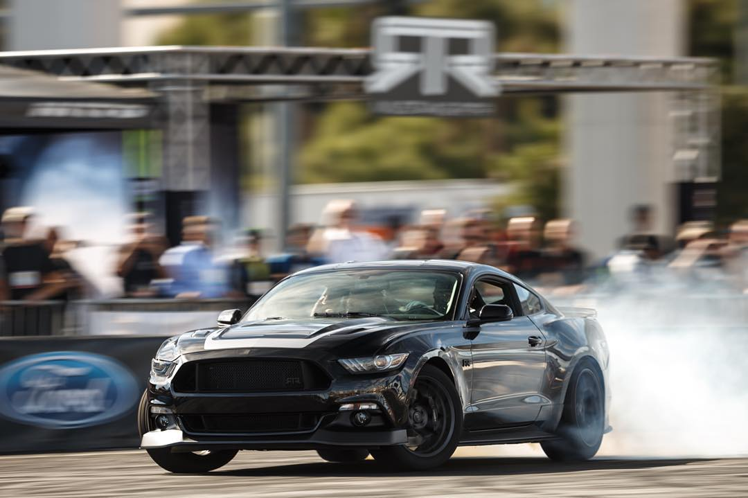 If you hand over the keys to a brand new Ford Mustang RTR to @ryantuerck, what else would you expect? #killalltires