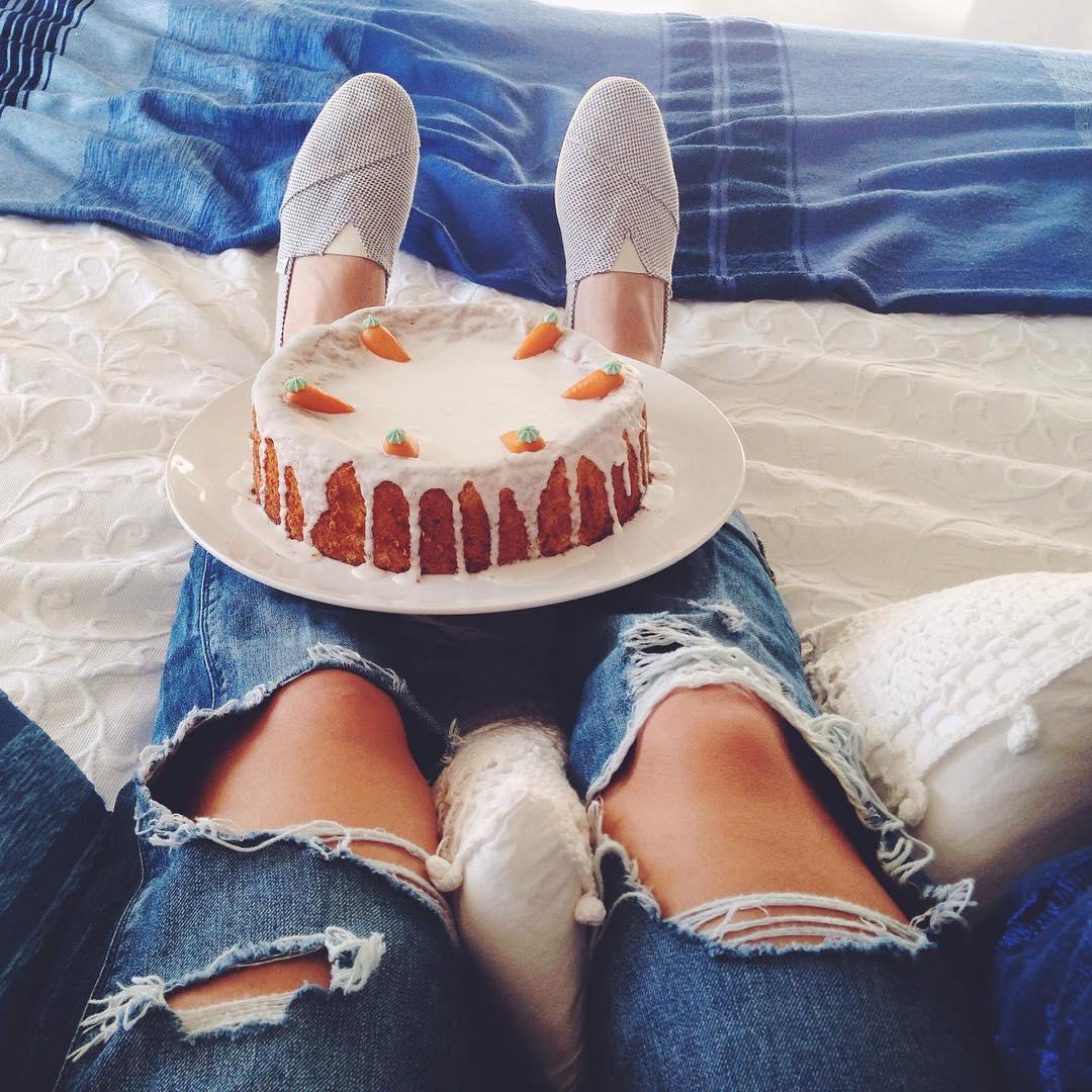 Siempre es buen dia para una Carrot Cake
