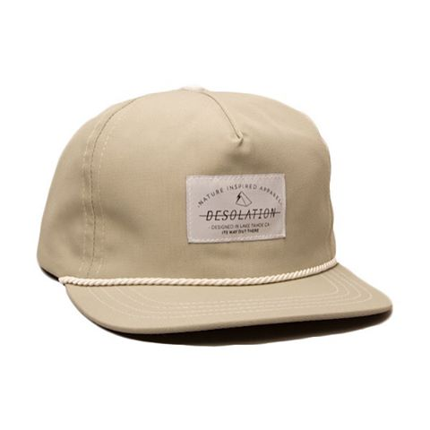 The Camper Cap in cement. A very concrete hat.  _  #desosupplyco #itswayoutthere #DESO #madeinCA