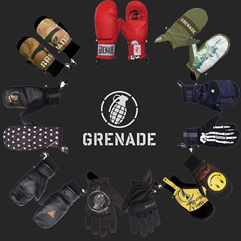 @subvertmcr Grenade stock is in! Get yours #grenadegloves