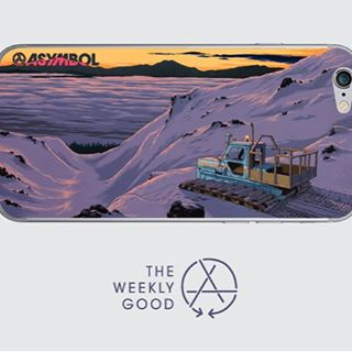 The Weekly Good is the Adam Haynes Dawn Patrol skin.  Fits iphones 4-6s, goes on clean, comes off clean.  Check them out here  http://ow.ly/ULg4d.  #theweeklygood #adamhaynes #dawnpatrol #iphoneskin #asymbol #asymbolart