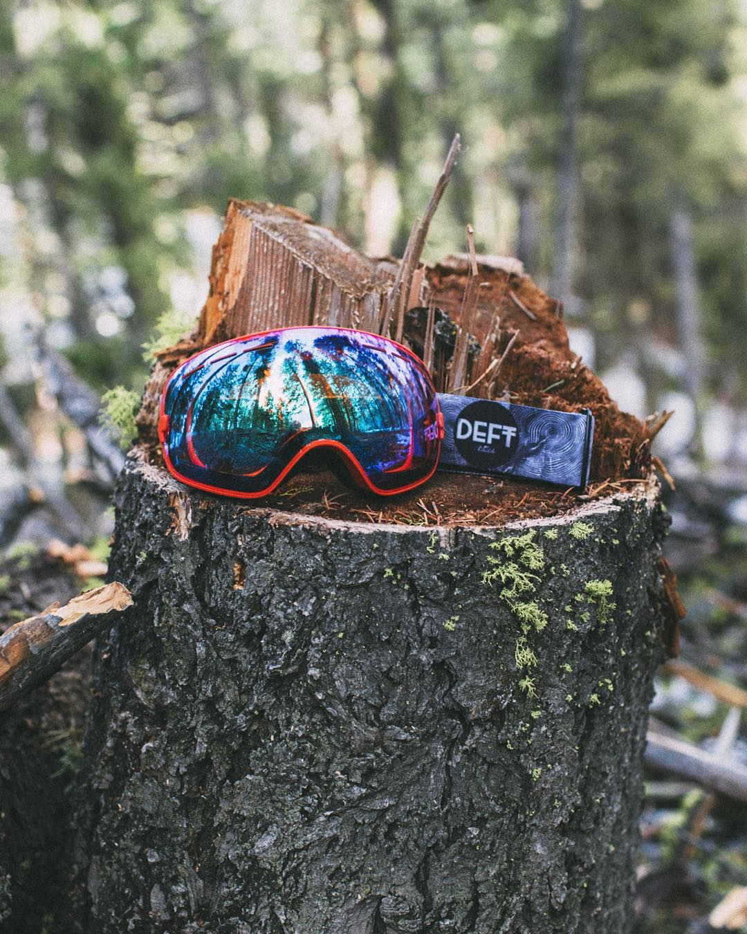 Our friends @deftoptics have just one week left on their Kickstarter Project - shop the fully customizable goggles (for under $60) by clicking the link in their bio.  Learn more about them & our next #NatureOfProof Giveaway at iwantproof.com! Photo by...