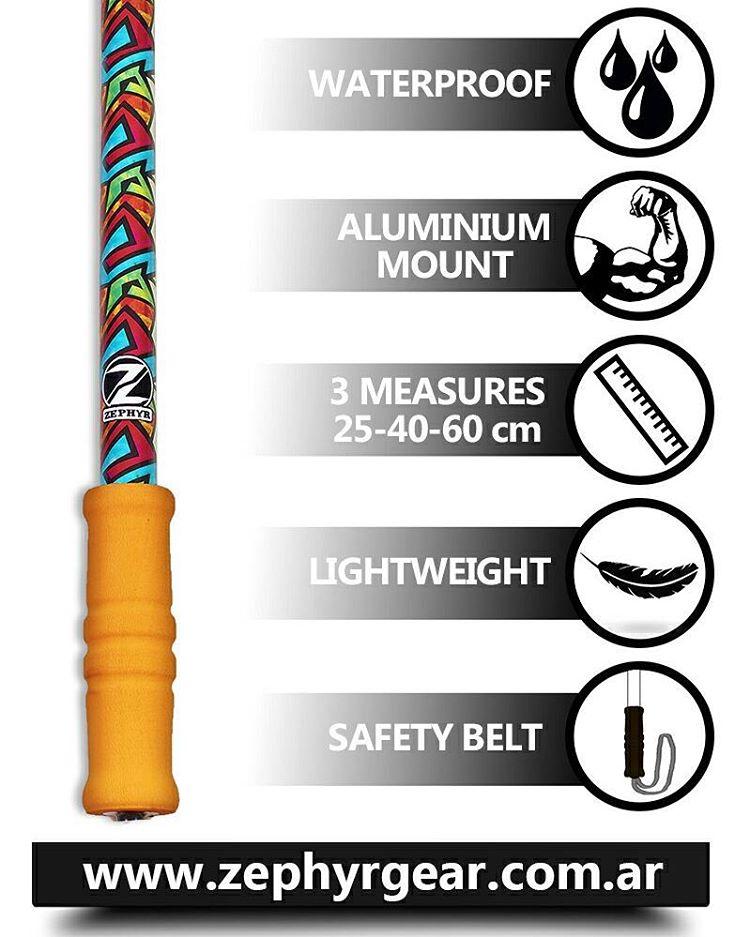 Los mejores bastones para tu #GoPro. La mejor calidad y diseños! Compra tu #ZephyrPole en nuestro #ShopOnline!