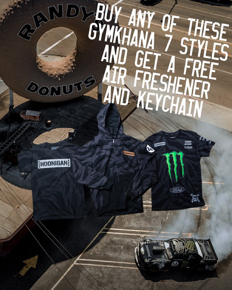 "Gymkhana 7 ""Wild in the Streets"" is one year old today and also just hit 30 MILLION views. So celebrate by getting FREE STUFF on #hooniganDOTcom and watching it again. #happybirthdayhoonicorn"