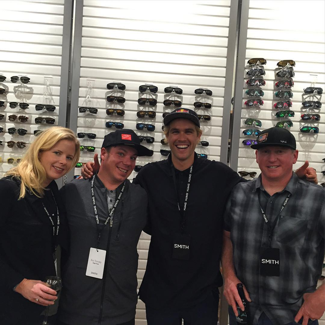 @smithoptics has one incredible space in Portland, OR - @shannonccarey - @vtnorthskishop - @bobby_brown1 - #highfives