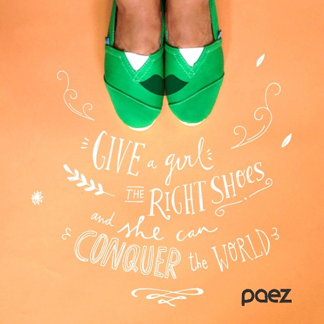 Happy Women's Day! #womensday #paezshoes #whpwomenwhoinspire #quote