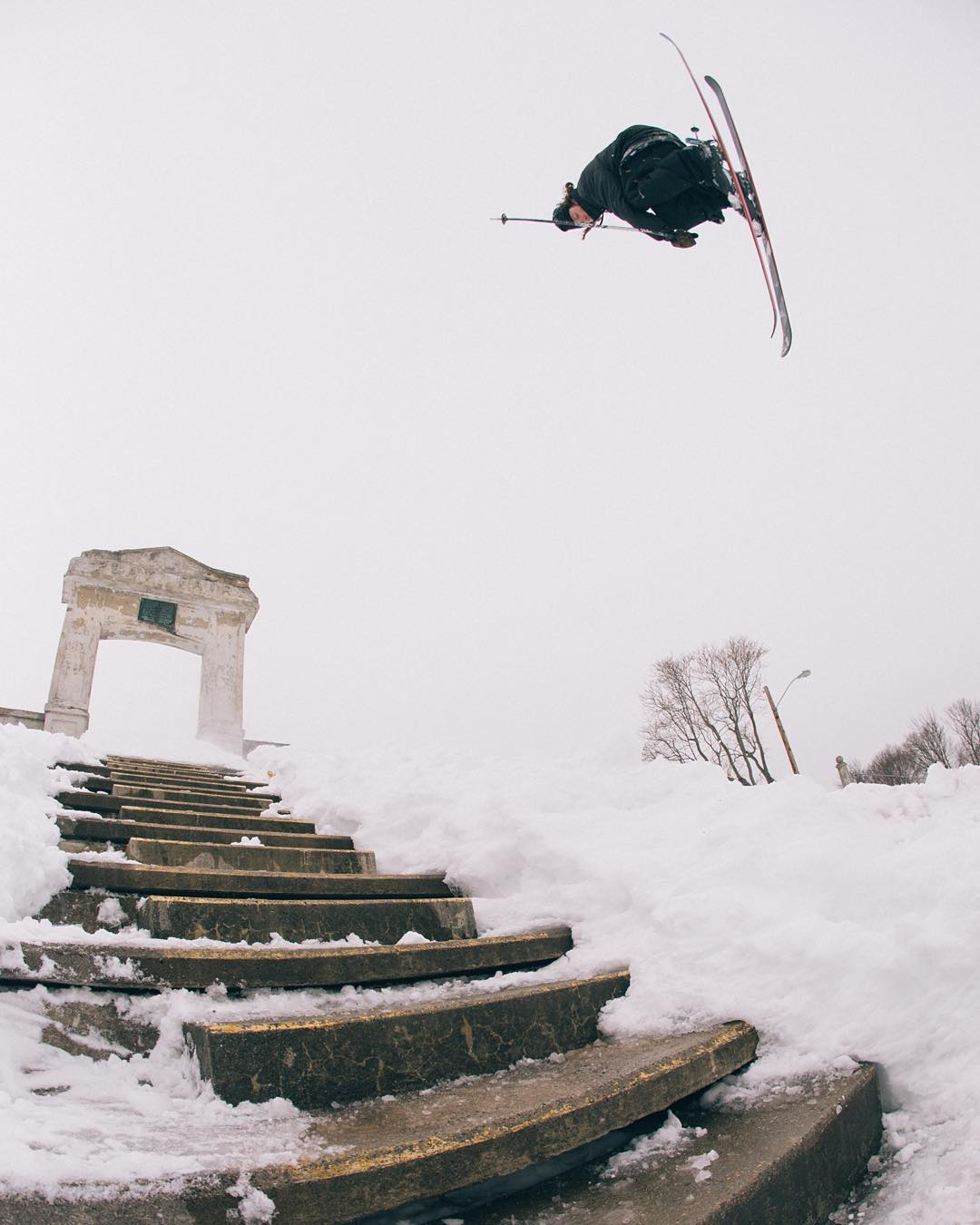 @cam_riley Side - B dropping at 10 am MST. 100% all skiing. #forlackofbetter | photo @baldwinch