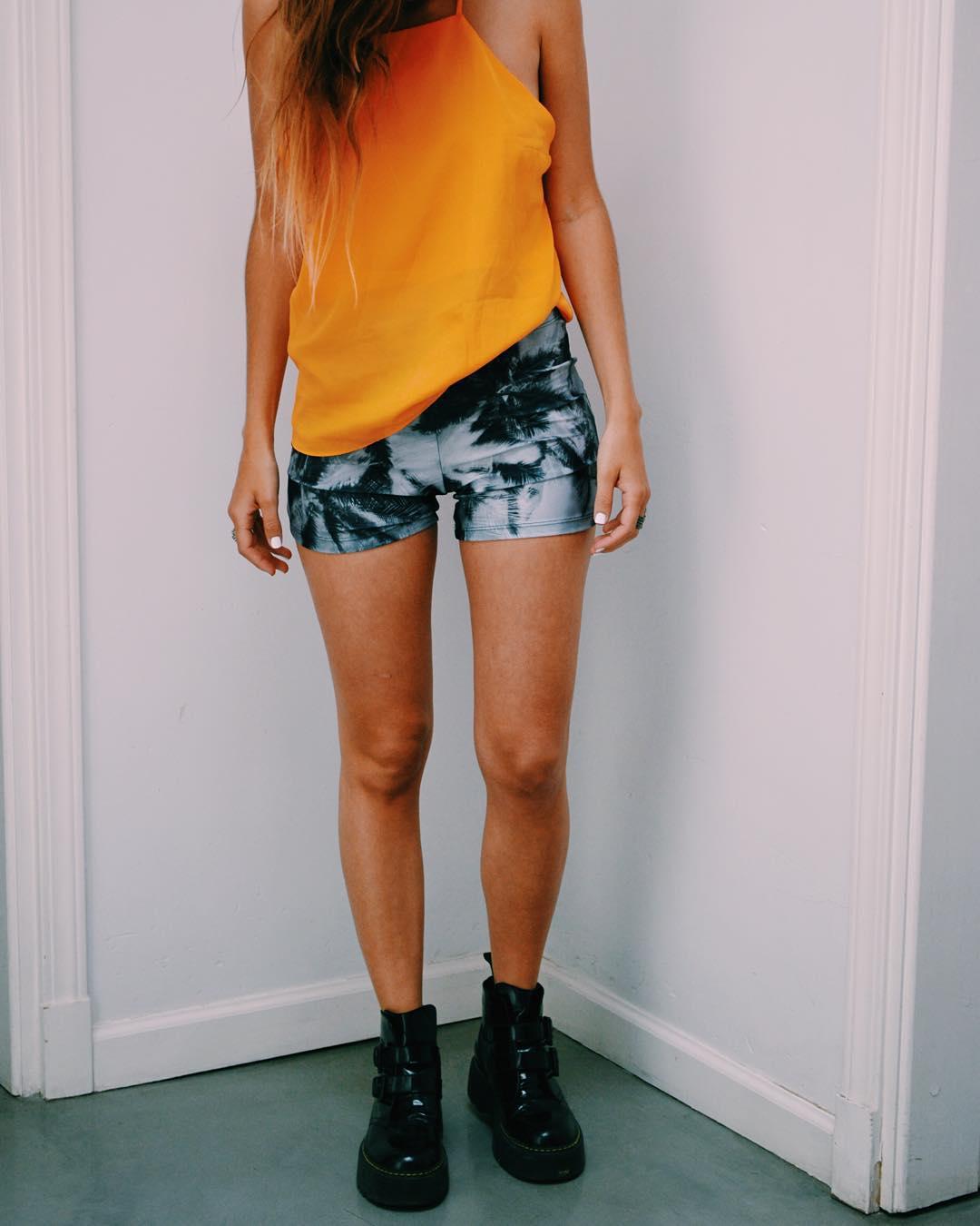 Summer Outfit ⚡️ Short Palmeras