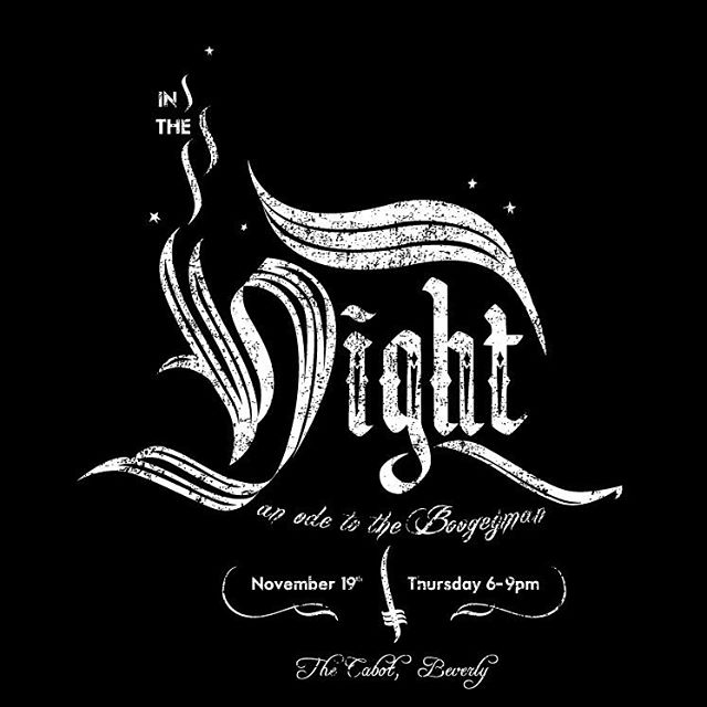 "Our editor is having a solo art show called ""In The Night"" at @the_cabot in Downtown Beverly, MA tomorrow night from 6-9pm. Super rad work, check it out if yur around. Drinks provided by @gansettbeer and @deepeddyvodka #steez #cabotcinema #thecabot..."