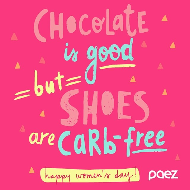 What did you get today? / que les regalaron hoy? #womensday #diadelamujer #paez #quote #women #day #8