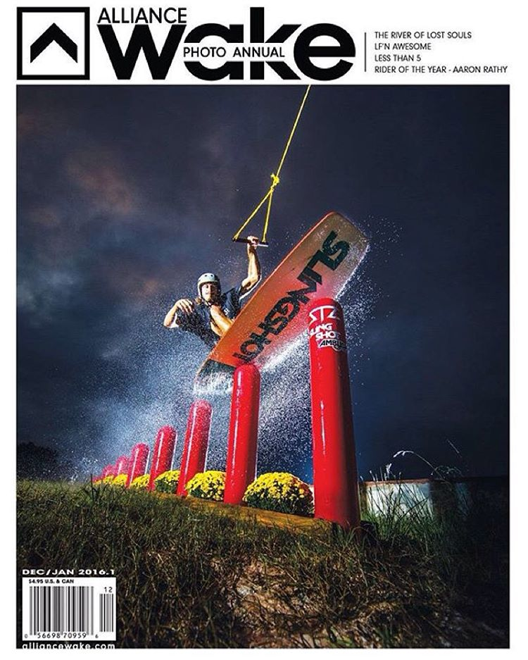C O V E R | congrats to team rider @wesleymarkjacobsen snagging the cover of the latest @alliancewake issue! | such a rad shot by @brutledge |