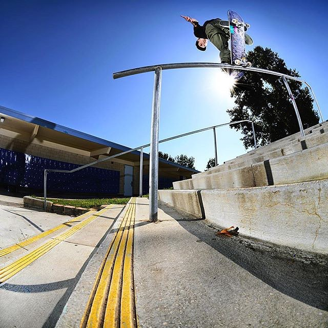 @alex_lawton back noseblunts with perfection while #elementadvocate @jakedarwen captures it with an equally impressive