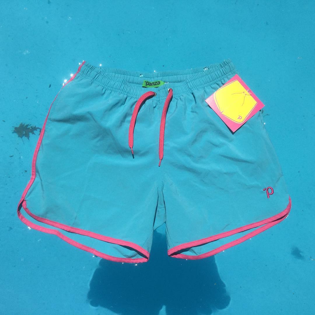 """#unpanzaxdia Hoy: Panza  Mitch Buchannon """"Celeste que le cueste"""" encontralo en el boliche online en www.panzapeople.com  o en nuestros locales amigos  GARPA TENER PANZA  #verano #summer #beach #beachlife #swimtrunks #beachwear #playa #men #print #blue..."""