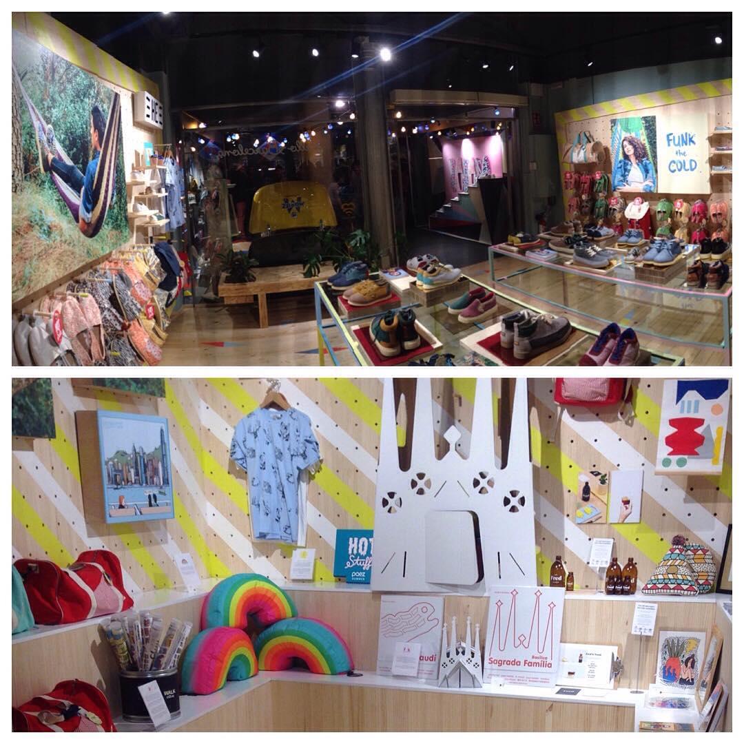 Hello Barcelona! Si andas por la ciudad, hazte una escapada a nuestra Flagship Store, tenemos un nice Marketplace que hemos montado junto a algunos amigos
