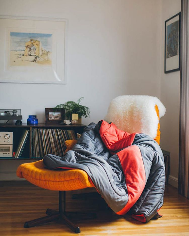 Sometimes a cozy indoor space is all you need #superfleece