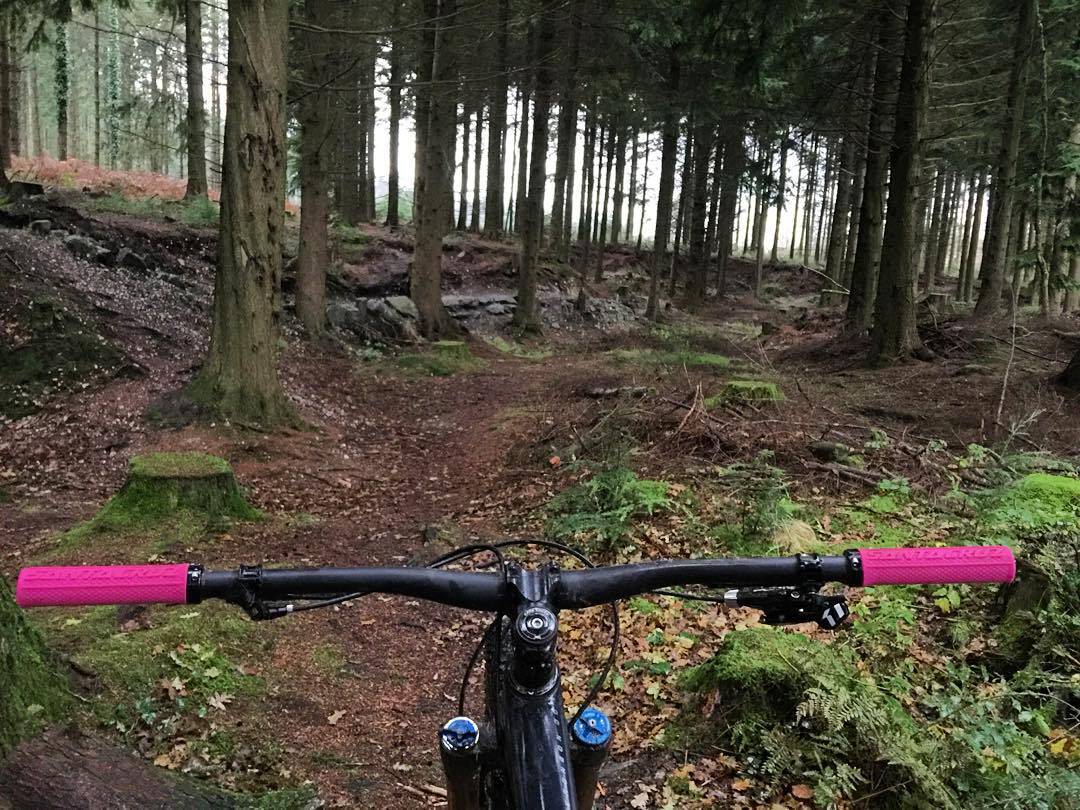 Good ride today at the local trails in Devon