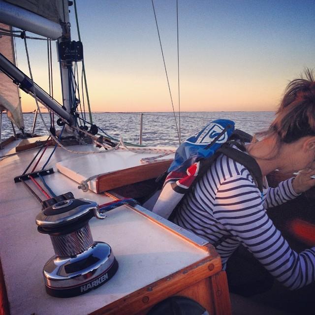 #gosailing  #discoverpack en #riodelaplata  @claramonti the captain!